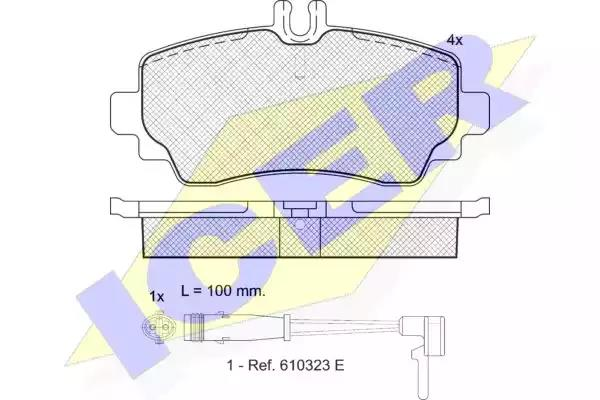 181516 - Brake Pad Set, disc brake
