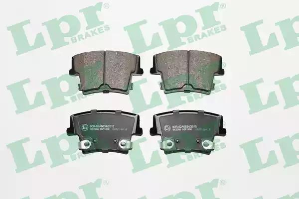 05P1400 - Brake Pad Set, disc brake
