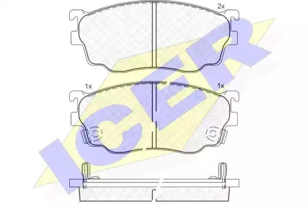 181334 - Brake Pad Set, disc brake