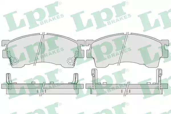 05P1017 - Brake Pad Set, disc brake