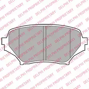 LP2026 - Brake Pad Set, disc brake