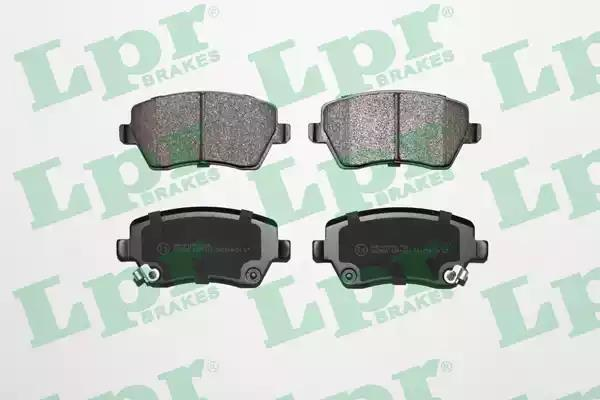 05P1621 - Brake Pad Set, disc brake