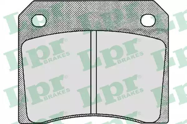 05P530 - Brake Pad Set, disc brake