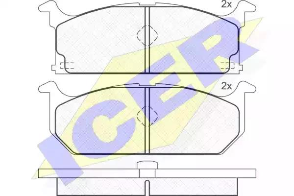 180586 - Brake Pad Set, disc brake
