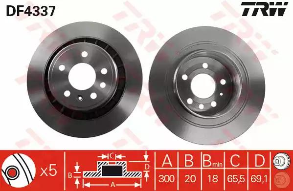 DF4337 - Brake Disc
