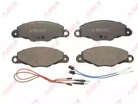 C1P027ABE - Brake Pad Set, disc brake