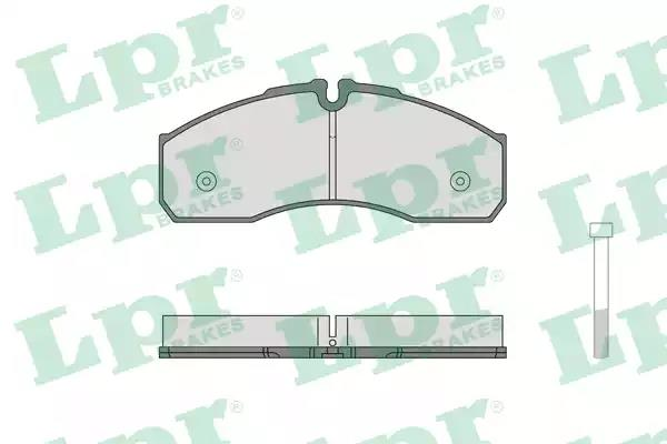 05P1462 - Brake Pad Set, disc brake