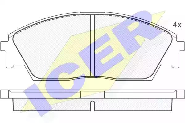 180754 - Brake Pad Set, disc brake