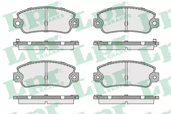 05P128 - Brake Pad Set, disc brake