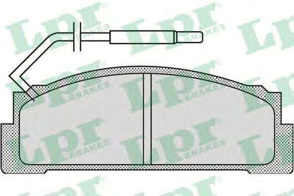 05P970 - Brake Pad Set, disc brake