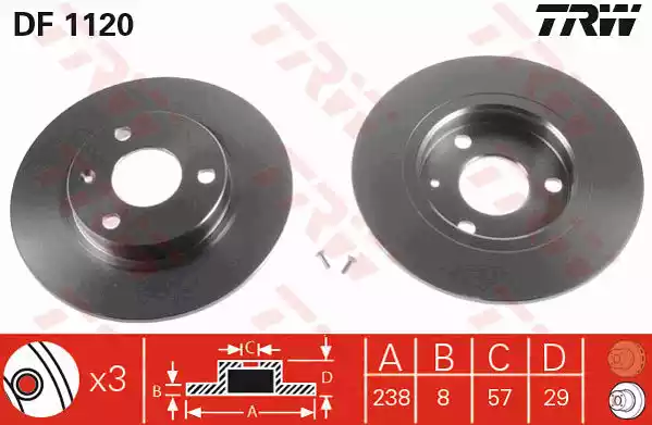 DF1120 - Brake Disc