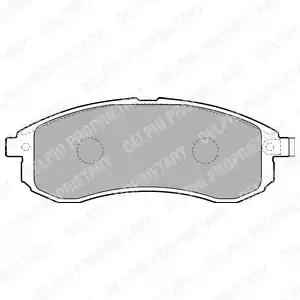 LP1808 - Brake Pad Set, disc brake