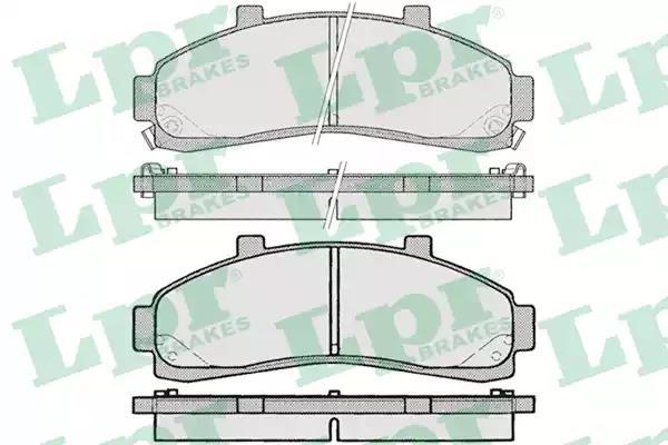 05P989 - Brake Pad Set, disc brake