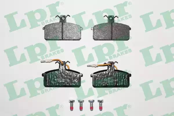 05P100 - Brake Pad Set, disc brake