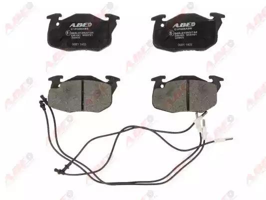 C1P006ABE - Brake Pad Set, disc brake