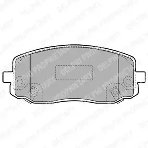 LP1933 - Brake Pad Set, disc brake