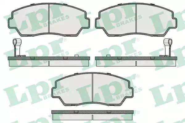 05P040 - Brake Pad Set, disc brake
