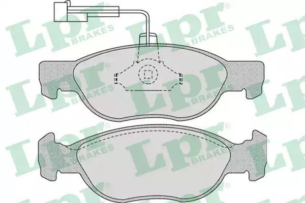 05P1076 - Brake Pad Set, disc brake