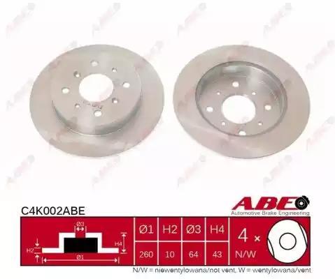 C4K002ABE - Brake Disc