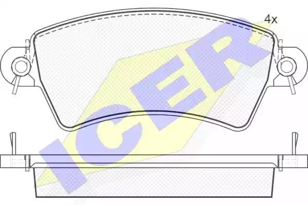 181365 - Brake Pad Set, disc brake