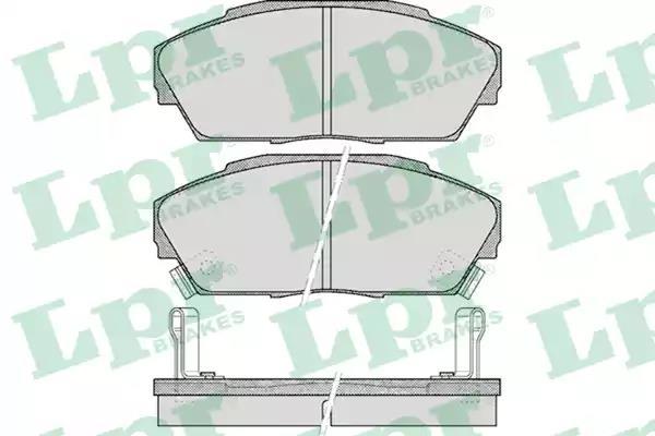 05P555 - Brake Pad Set, disc brake