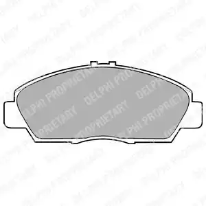 LP869 - Brake Pad Set, disc brake