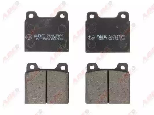 C1W015ABE - Brake Pad Set, disc brake