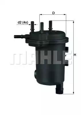 KL 632D - Kütusefilter