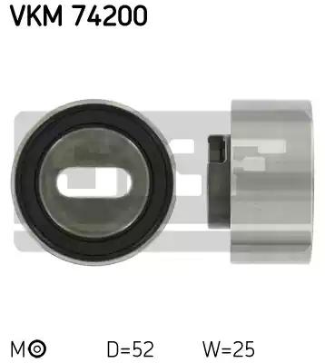 VKM 74200 - Pingutusrull, Hammasrihm