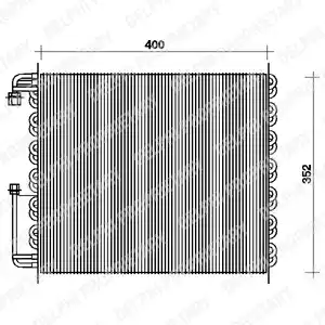TSP0225080 - Condenser, air conditioning