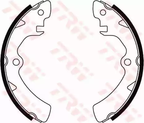 GS8195 - Brake Shoe Set
