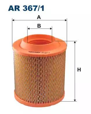 AR367/1 - Air filter