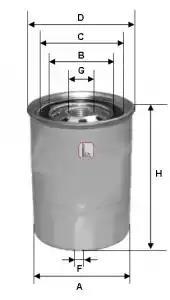 S 7210 NR - Fuel filter