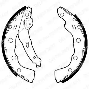 LS1880 - Brake Shoe Set