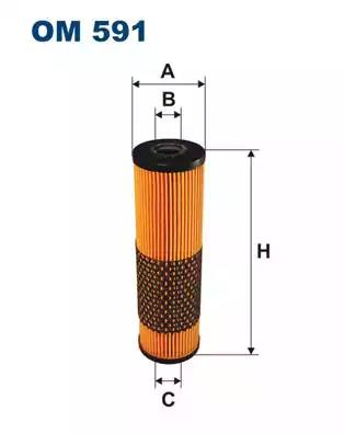 OM591 - Oil filter
