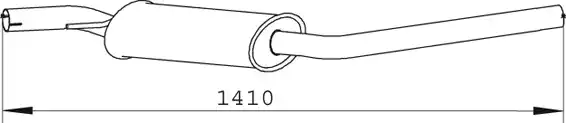 74372 - Middle Silencer