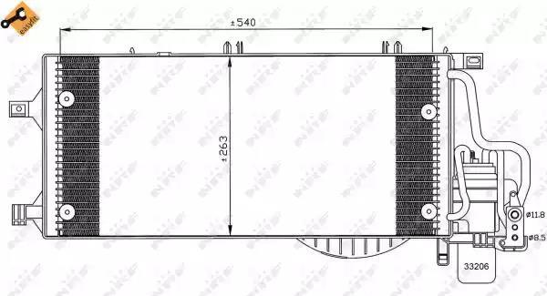 35531 - Lauhdutin, ilmastointilaite
