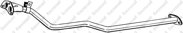 883-669 - Exhaust pipe