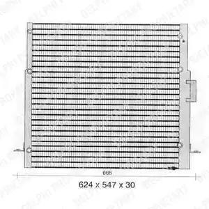 TSP0225368 - Lauhdutin, ilmastointilaite