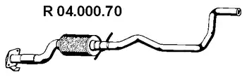 04.000.70 - Exhaust pipe