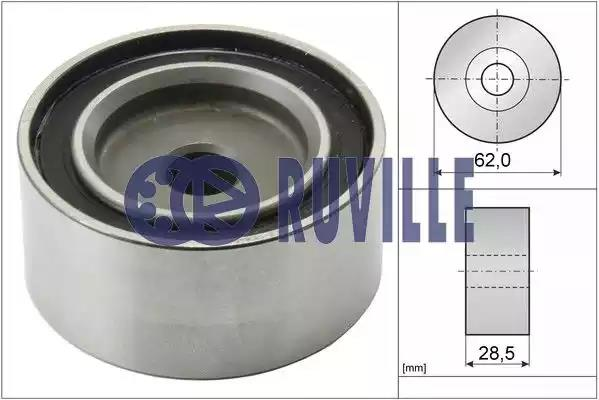 56943 - Deflection/Guide Pulley, timing belt