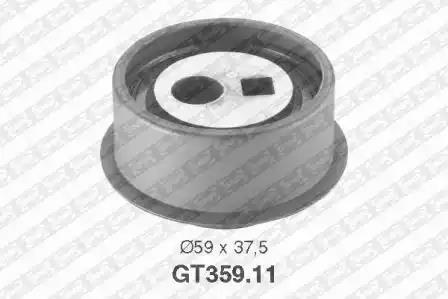 GT359.11 - Tensioner Pulley, timing belt