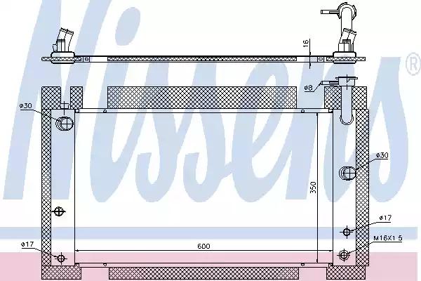 646809 - Radiator, engine cooling