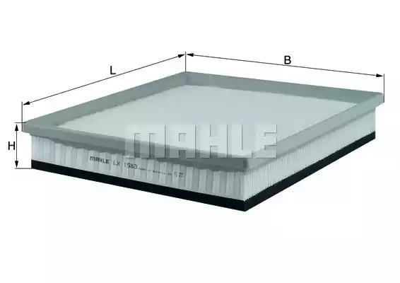 LX 1583 - Air filter