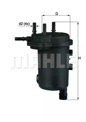 KL 633D - Kütusefilter