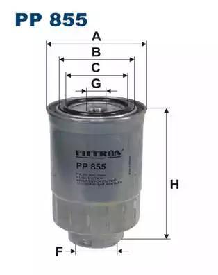 PP855 - Kütusefilter