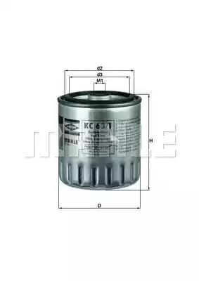KC 63/1D - Kütusefilter