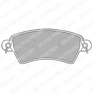 LP1517 - Brake Pad Set, disc brake