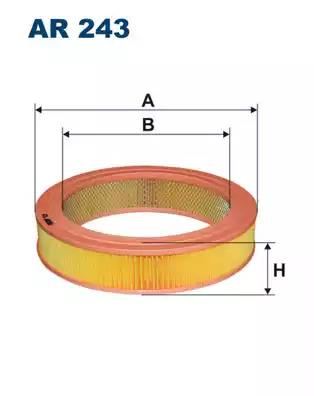 AR243 - Air filter