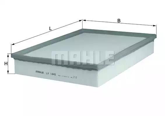LX 1845 - Air filter